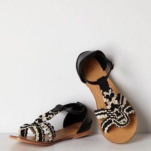 Anthropologie Jasper & Jeera Arembepe sandals
